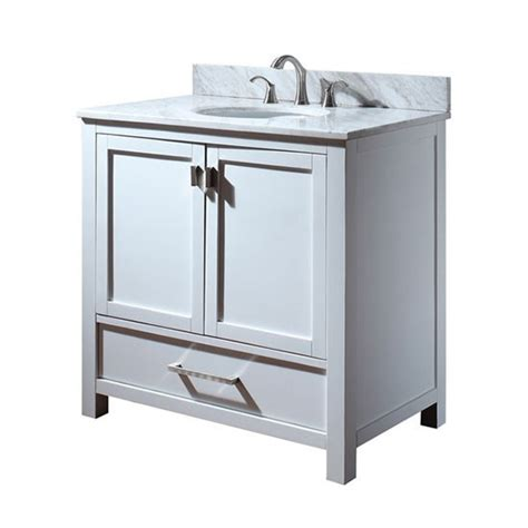 avanity modero single 36 inch traditional bathroom