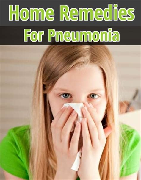 5 useful home remedies for pneumonia