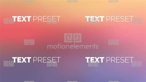 38 text preset after effect after effects templates 9379397