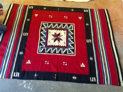 santa fe rugs and blankets santa fe find vintage rug collectors weekly