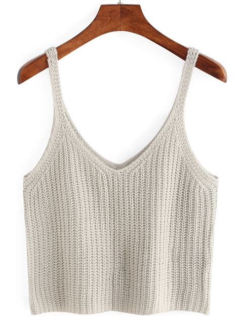 knit a tank top knitted crop tank top makemechic