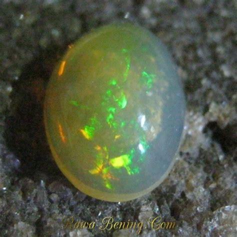 Opal Teh jual batu mulia opal teh bening jarong tajam oval