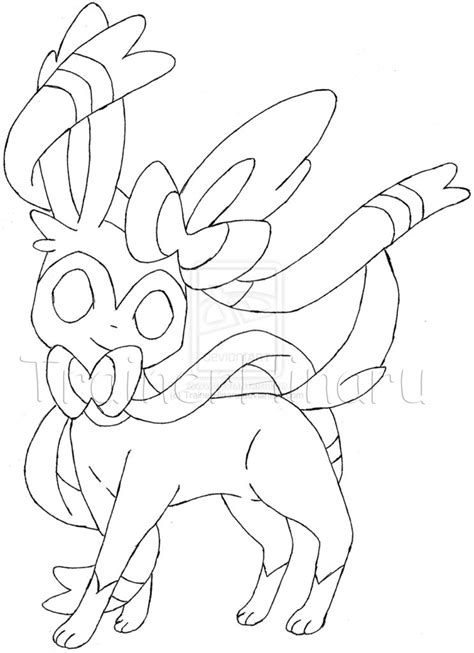 pokemon coloring pages sylveon pokemon coloring pages sylveon vitlt com