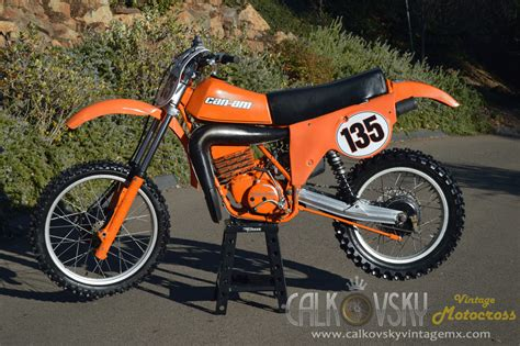 can am motocross bikes 1979 can am mx5 vintage motocross dirt bike