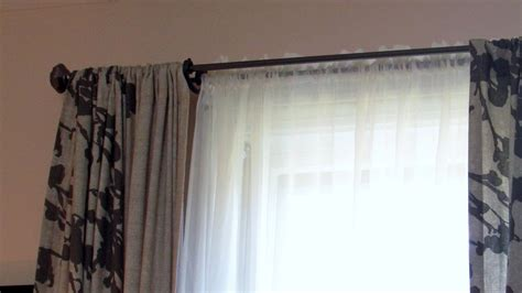 diy extra long curtain rod diy extra long curtain rod home design ideas