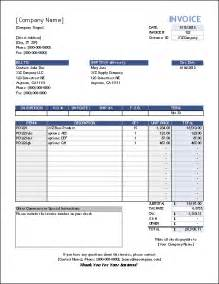 Sales Invoice Template Excel by Vertex42 Invoice Assistant Invoice Manager For Excel