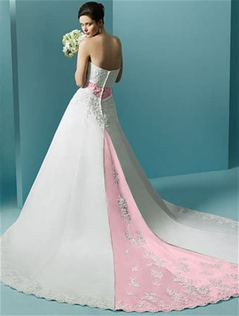 Pink White Wedding Dresses by Big Pink Wedding Dress Designs For
