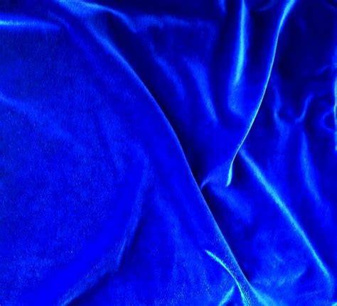 Cobalt Blue Velvet Upholstery Fabric by Royal Blue Velvet Fabric Width 57 Cobalt Blue