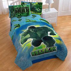 incredible hulk comforter birthday in a box avengers and wall decals on pinterest