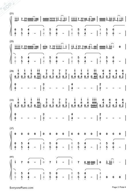 alan walker ignite ignite alan walker numbered musical notation preview 2