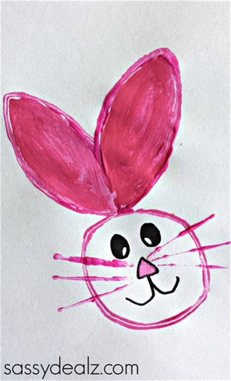 Toilet Paper Roll Bunny Craft - easy bunny crafts for crafty morning