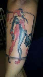 harley quinn tattoo tattoos pinterest