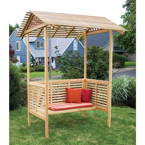 Garden Arbor Lowes by Pin By On Arbors N Pergolas