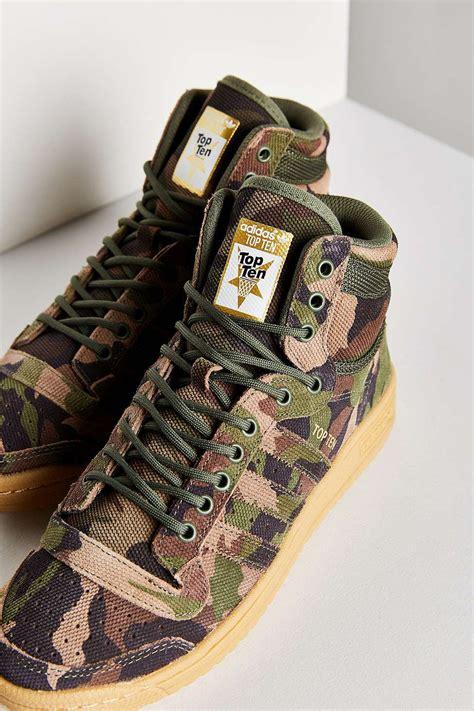 adidas originals camo top ten hi sneaker shoes shoes shoes adidas shoes camo shoes