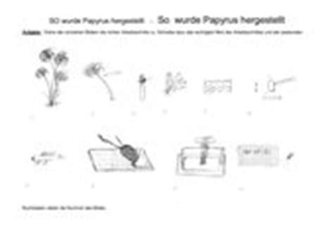 Papyrus Selbst Herstellen by 4teachers Lehrproben Unterrichtsentw 252 Rfe Und