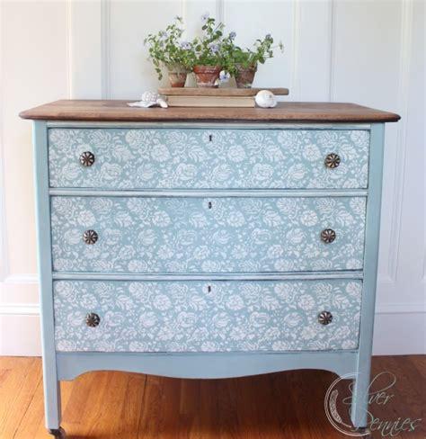 fleur chalk paint dresser before after finding silver pennies