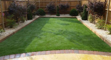 Rear Patio Designs by Rear Garden Fencing And Patio Design Wroxton Landscaping