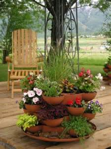Patio Herb Garden Containers Creating A Container Herb Garden The Everyday Home