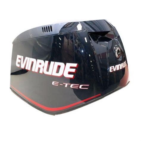 top outboard motors evinrude brp e tec outboard boat motor top cowling ebay