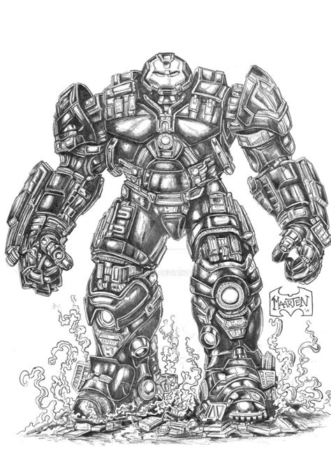 iron man hulkbuster coloring pages iron man hulkbuster by xpendable on deviantart