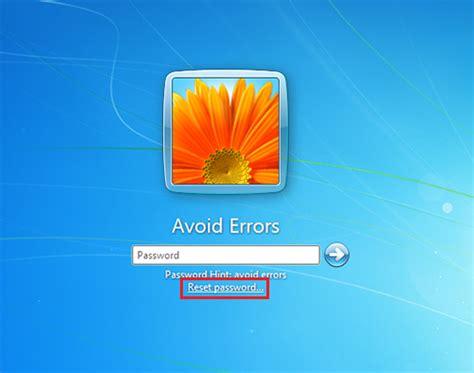 Windows Vista Password Reset Disk Error | how to create and use a password reset disc windows 7