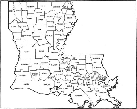 louisiana map print 6 best images of printable louisiana map printable map