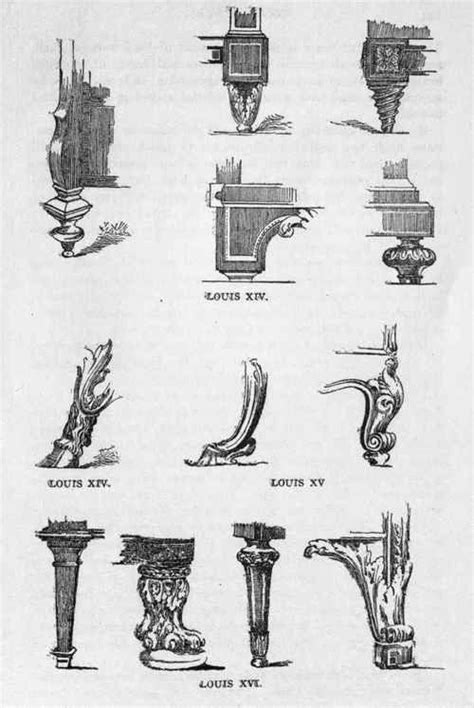 styles of furniture french furniture leg styles creative decorating