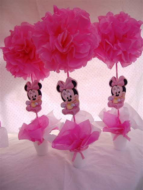 minnie mouse centerpieces baby minnie mouse centerpieces s baby shower centerpieces middle and