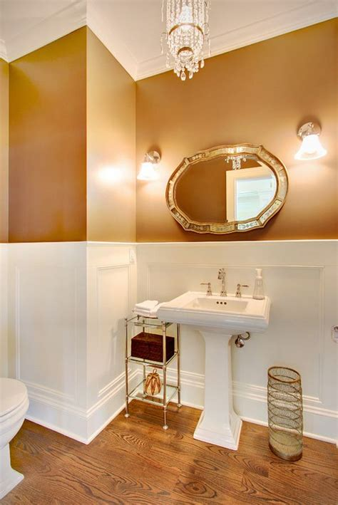 two tone paint bathroom walls antique bathrooms with trendy appeal