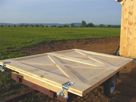 Exterior Door Construction Build Your Exterior Barn Doors With Sliding