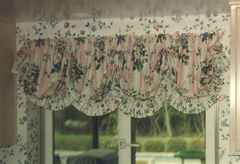 pouf valance curtains why i chose balloon shades over roman shades bee home