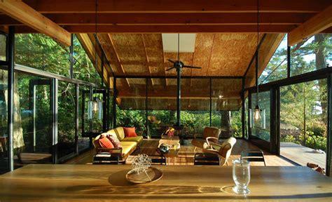 open cabin open plan sneeoosh cabin washington by zeroplus architects