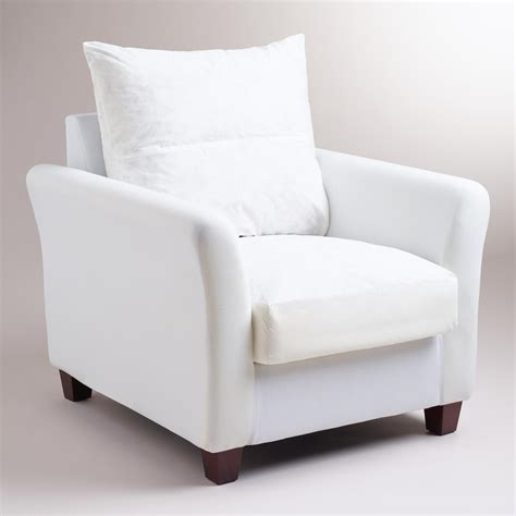 luxe slipcover luxe chair frame world market