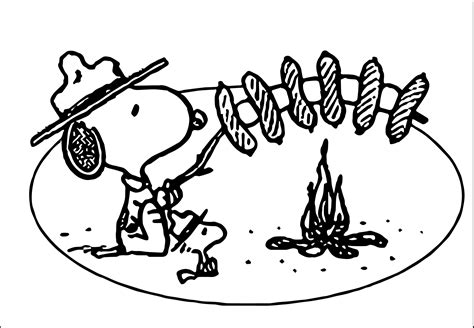 snoopy clipart snoopy boy scout clip 41