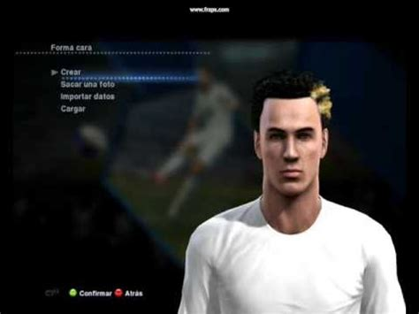 pes 2013 hairstyle strange hairstyle pes 2013 2 1 how to do it youtube
