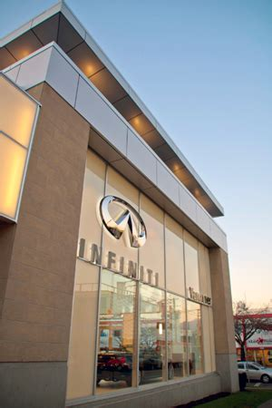 Infinity Auto Vancouver by Infiniti Downtown Vancouver Opens For Business Canadian