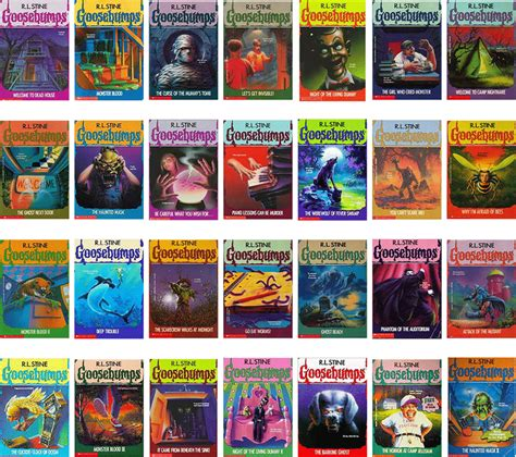 goosebumps books list with pictures best goosebumps books geeks
