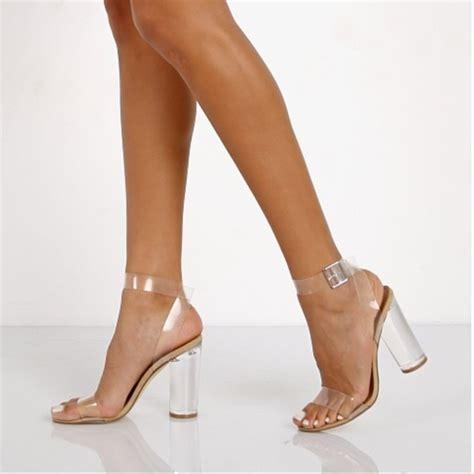 Steve Madden Clear Heels by Steve Madden Shoes Clear Heels Poshmark