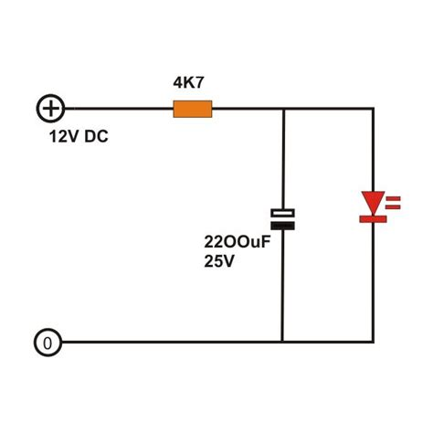 capacitor and resistor in parallel ac how do you make a component only be on when a capacitor powers it electrical engineering