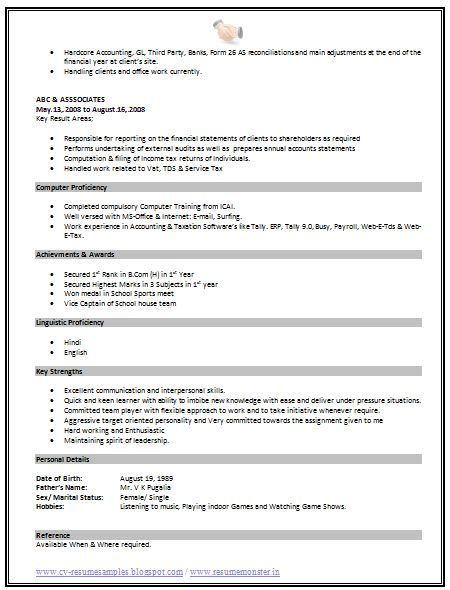 standard format for writing a resume best 25 standard resume format ideas on