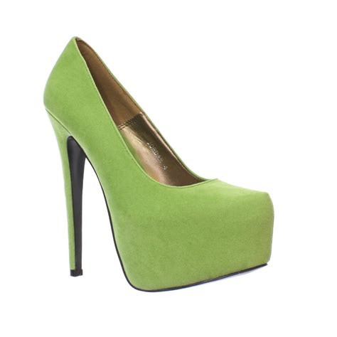 lime green high heel sandals womens lime green platform stiletto high heel