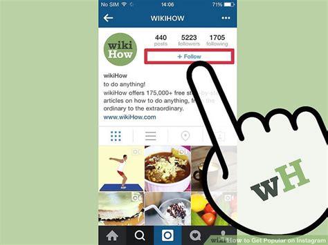 celebrity bios on instagram 4 ways to get popular on instagram wikihow