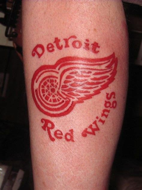 detroit red wings tattoo 19 best images about wings tattoos on the