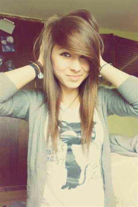 emo hairstyles no bangs light golden brown hair full emo bangs adoree taylor