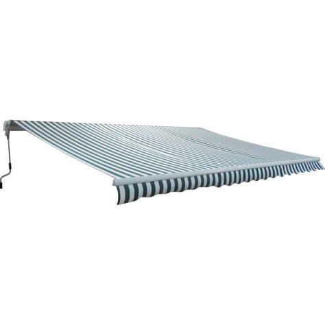 Manual Retractable Awning Garden Patio Manual Retractable Awning Canopy Sun Shade