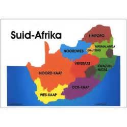 Dance Wall Stickers suid afrika kaart