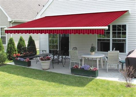 retractable awnings by wendel home center wendel home
