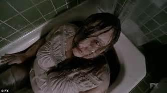 Bathtub Murders gaga coldly murders tristan duffy on american horror story hotel daily mail