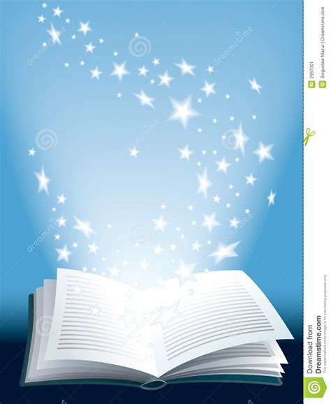 fly magic in your books magic book stock image image 2967001
