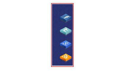 cara membuat blog jejaring sosial cara membuat widget jejaring sosial melayang dengan tombol